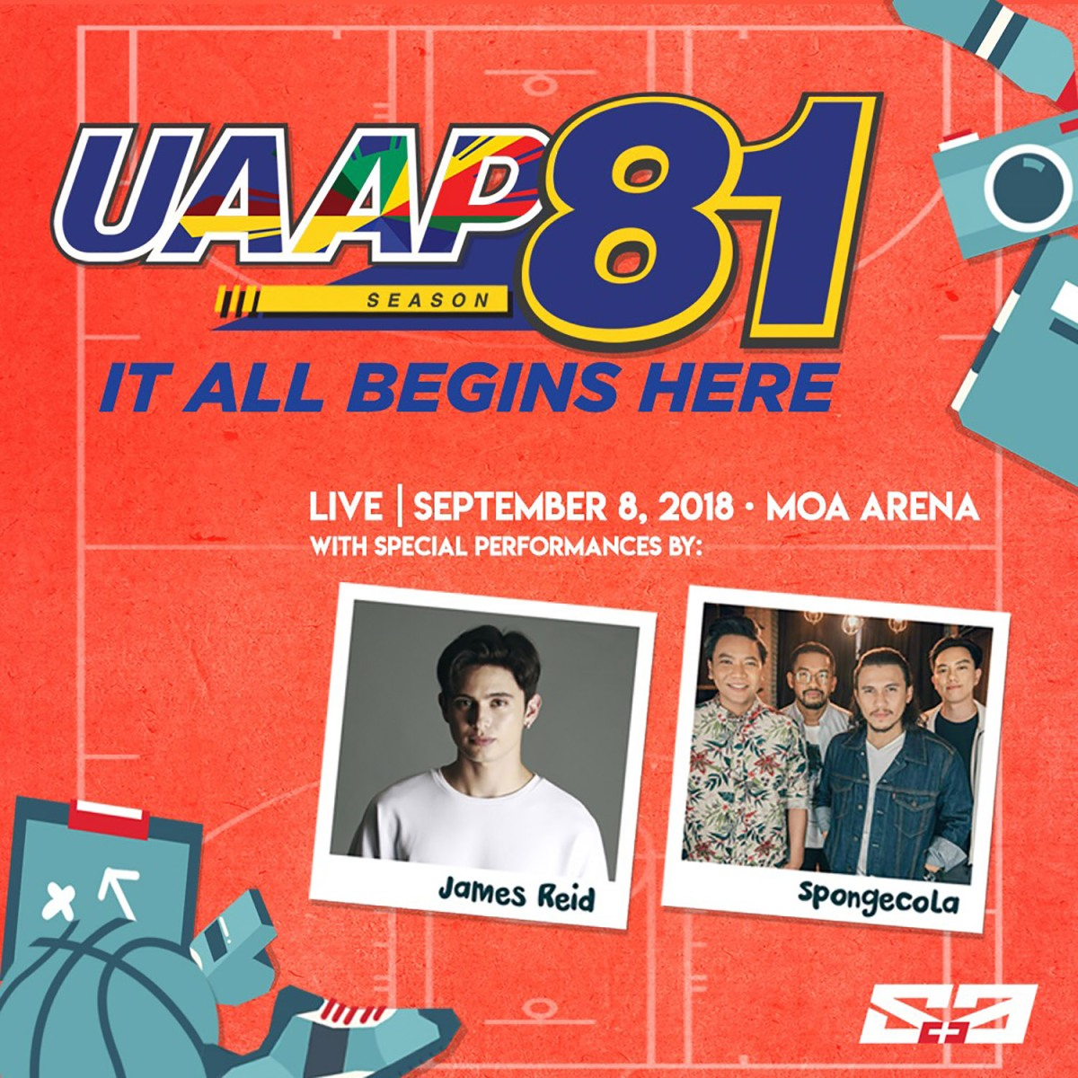 National University to open UAAP Season 81  at the SM Mall of Asia Arena